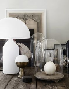 The Home of The Owners of Artilleriet, Sweden | Style&Minimalism Interior Styling, Interior Decorating, Interior Design, Home Decor Accessories, Decorative Accessories, Style At Home, Atollo Lamp, Deco Studio, Sweet Home