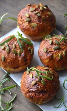 Beetroot and Parsnip Muffins.