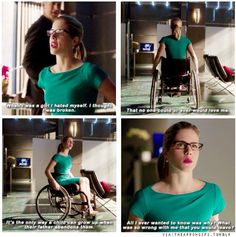 """What was so wrong with me that you would leave?"" - Felicity and Noah #Arrow"
