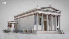 Classical Architecture, Historical Architecture, Ancient Architecture, Art And Architecture, Ancient Rome, Ancient Greece, Fantasy World Map, Fantasy Rpg, Greek And Roman Mythology