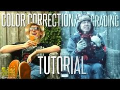 Color grading made easy after effects tutorial no plugins color correctiongrading tutorial youtube fandeluxe Image collections