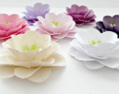 100 Anemone Wedding Flowers Seed Paper Embedded by PaperSprouts