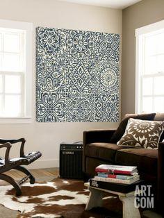 Stencil Tile Design Loft Art