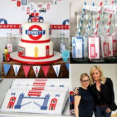 A Bold Brit Inspired Birthday Party