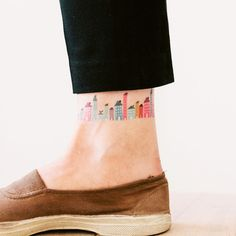 If I EVER got a tatoo, this would be it - perhaps with tiny versions of my favorite buildings!