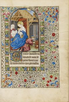 The Holy Family - (1440-1450) Bedford Master French - the Getty Museum