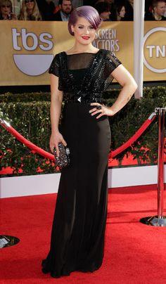Kelly Osbourne in Jenny Packham #RedCarpet #SagAwards #2013