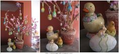 Easter Egg Crafts: Assembling An Easter Egg Tree From Scratch