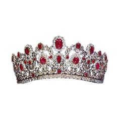 Pinterest ❤ liked on Polyvore featuring tiara, jewelry, crown, ruby, accessories, jeweled hair accessories, crown tiara, crown hair accessories and tiara crown