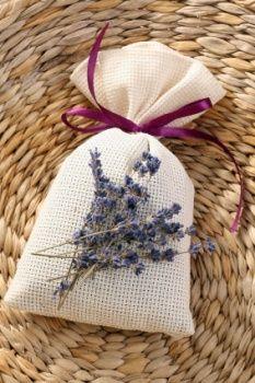 Pretty Hand Stitched Lavender Sachet
