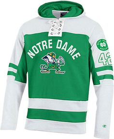d580ea849 University of Notre Dame Fighting Irish Hockey Hooded Sweatshirt