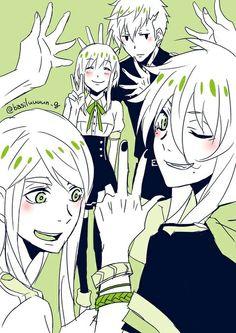 Kamigami no Asobi Balder,Loki,Thor y Yui