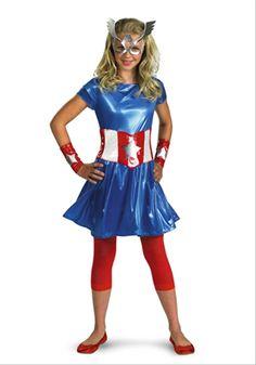 American Dream Superhero Teen Girls Costume