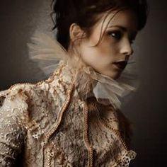 Victorian collar.