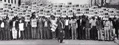 "wehadfacesthen: "" ""I Am A Man"" Sanitation Strike, Memphis, Tennessee, 1968 """