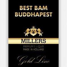 MILLERS-Juice-Goldline-Best-Bam-Buddhapest -Vape Depot voor elektronische sigaretten / dampen, e-liquid