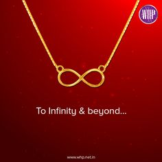 When your love for her is beyond infinity, you need to express it with something as special as this infinity pendant! View more: http://bit.ly/2l3EEAz  #WhpLovesLovers