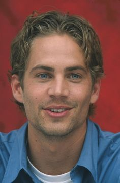 Paul Walker The Fast and the Furious Press Conference June 10, 2001.
