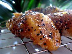 Бананы в кунжутной карамели (китайская кухня)