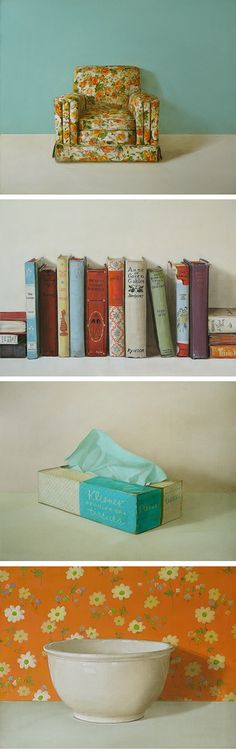 The Amazing Holly Farrell. Still lifes without people.....love this girls work.