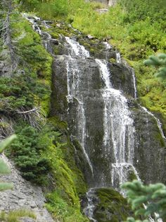 Near Crater Lake, OR Oregon Waterfalls, Welcome Aboard, Crater Lake, Road Trips, Lakes, Beautiful Places, Scenery, Bucket, Hiking
