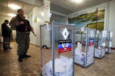 Pro-Russian separatist Zakharchenko wins Ukraine rebel vote - REUTERS #Zakharchenko, #Ukraine, #Elections