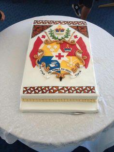 Tongan Pride Cake Island Cake, Island Food, Tongan Food, Birthday Cakes, Birthday Ideas, Polynesian Designs, Bridal Makeup, How To Make Cake, Cake Designs