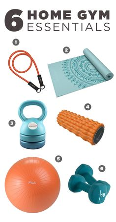 Before you build your core you need to build your gym. It's easy with six home gym essentials. Featured product includes: Bionic Body resistance band, Gaiam Marrakesh yoga mat and deep tissue foam roller, Empower 3-in-1 kettleball, FILA stability ball and Proform 10-lb. neoprene dumbbells. Gear up for a great workout at Kohl's.