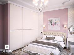 #спальня #розовый #шторы #бродская #белый #дизайн #интерьер #дизайнер #торшер #кресло #интерьер #design #interior #bed #bedroom #pink #lamp #brodskaya #tv #blind #white