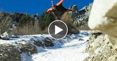 Is this the Closest a Wingsuit Pilot Has Ever Flown to the Ground?