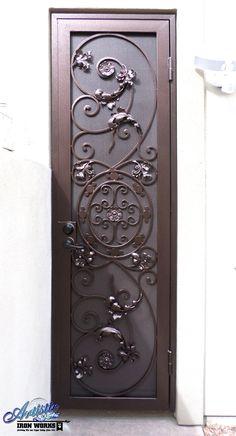 Favela - Decorative Wrought Iron Security Door - Model: SD0183