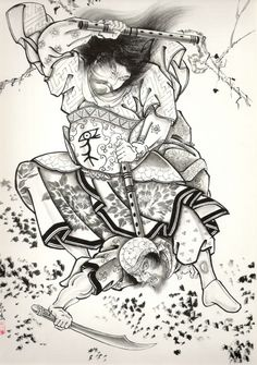 Heroes of the Japanese tattoo (108 работ)