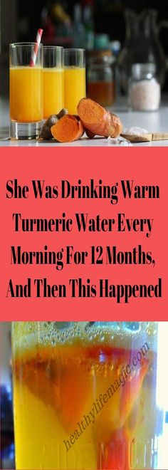 She Was Drinking Warm Turmeric Water Every Morning For 12 Months, And Then This Happened | Healthy Life Magic