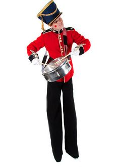 Book our Musical Toy Soldier. Our Toy Soldier Stilt Walker is available to hire for Christmas parades, Christmas-themed events or Winter Wonderland events in the UK & London.