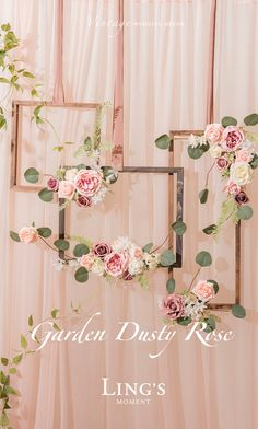 Dusty Rose Fall Wedding - Real touch artificial rose for wedding and party! 36 colors 10% Off...