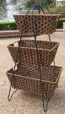 storage bins and baskets - Bing Images **3-tiered baskets for storage**