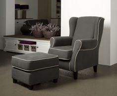 Palermo fauteuil met hocker - Den Helder Home & Living XXL Verkkooppunt Ruyghweg 55