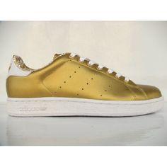 Adidas Stan Smith II LEA Gold, stan smith 2