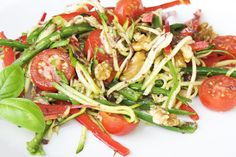 Courgette Linguine Salad