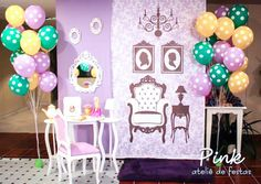 Tangled Rapunzel themed birthday party via kara's party ideas! full of decorating ideas, dessert, cake, cupcakes, favors and more! KarasPartyIdeas.com #tangled (7)