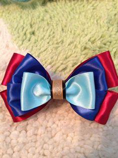 Anna Inspired Disney Bow on Etsy, $8.00