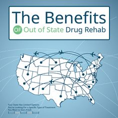 The Benefits of Out of State Drug Rehab. It may even be more beneficial than you think to step over that state line . Read Article: http://www.drugrehab.org/the-benefits-of-out-of-state-drug-rehab/