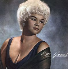 Etta was, and still is, an inspiration to many of us singers. That deep soulful voice can bring tears to your eyes!