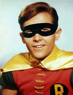 "Burt Ward as "" Robin"" series, Batman"