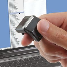 Wireless mouse ring.