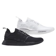 low priced cf992 4486d The adidas NMD R1 Primeknit releases this upcoming August in Triple White  and Triple Black. Zapatillas SneakersTenisZapatos LujososAdidas HombreVerano