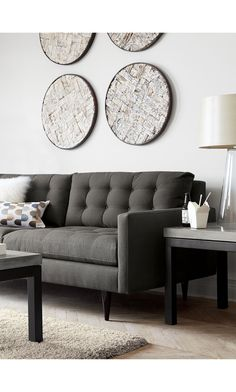 Add a focal point to your room with wall art from Crate and Barrel. Browse a variety of materials including wood, fabric and metal wall art. Order online.