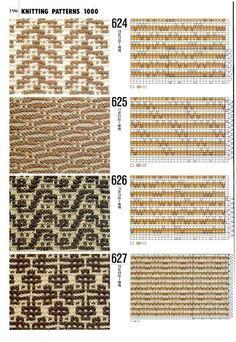 wellenmuster stricken stricken h keln muster pinterest. Black Bedroom Furniture Sets. Home Design Ideas