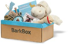 BarkBox - a monthly subscription for the dog in your life - filled with fun surprises every month!