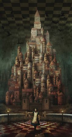 McGee's Alice in Wonderland Alice Liddell, Dark Alice In Wonderland, Adventures In Wonderland, Dark Fantasy, Fantasy Art, Arte Peculiar, Go Ask Alice, Alice Madness Returns, Toy Theatre